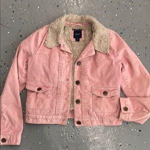 Gap- Fuzzy corduroy Jacket. Size 12